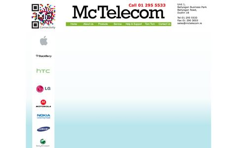 Screenshot of Testimonials Page mctelecom.ie - Contact Us - captured Aug. 10, 2016