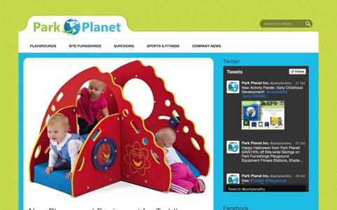 Screenshot of Blog parkplanet.com - Park Planet Blog - captured Oct. 22, 2014