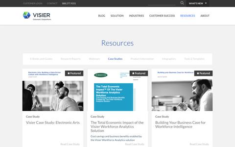Case Studies | Visier Inc.