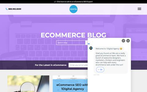 Screenshot of Blog 1digitalagency.com - Ecommerce Blog - 1Digital® Agency - captured Aug. 16, 2019
