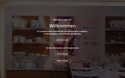 Screenshot of Team Page berndorf.ch - Team : Berndorf Luzern AG - captured Nov. 3, 2018