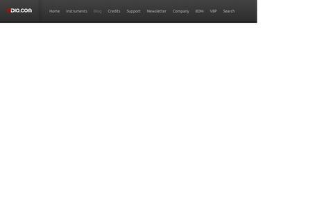 Screenshot of Blog 8dio.com - Blog - 8Dio: Interviews with Composers, Producers & Artists - captured Sept. 24, 2014