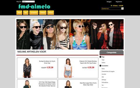 Screenshot of Home Page fmd-almelo.nl - Nederland Online winkel Netwerkverkoop Schoen,Zwempak,populaire beste verkoop - captured Oct. 10, 2018