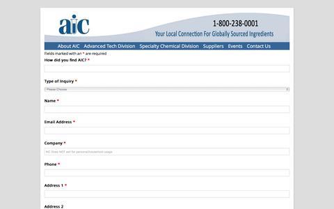 Screenshot of Contact Page Pricing Page aicma.com - Get Pricing | - captured Nov. 20, 2016