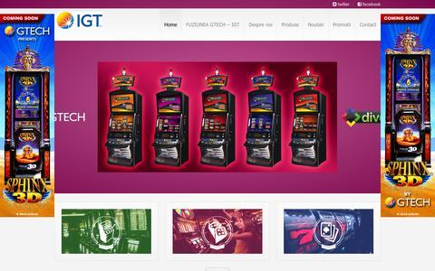 Screenshot of Home Page innogate.ro - Innogate - captured Feb. 11, 2016