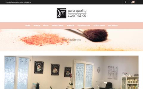 Screenshot of Press Page pure-quality-cosmetics.com - Pure-Quality-Cosmetics GmbH - captured Dec. 18, 2018