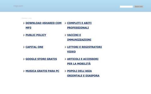 Screenshot of Home Page migr.com - migr.com-migr Resources and Information. - captured Jan. 12, 2018