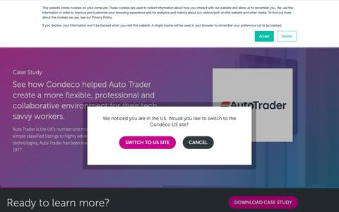 Screenshot of Case Studies Page condecosoftware.com - Case Study - AutoTrader - Condeco Software UK - captured Jan. 22, 2019