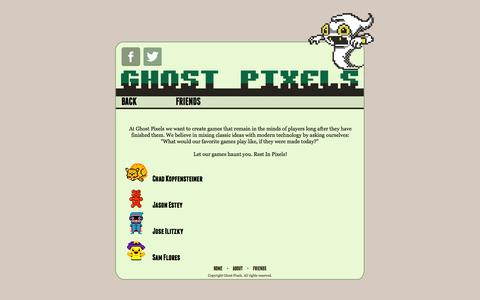 Screenshot of About Page ghostpxs.com - Ghost Pixels - About - captured Jan. 28, 2016