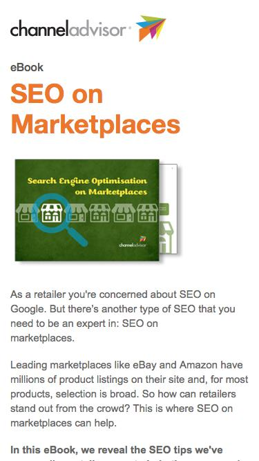 SEO On Marketplaces
