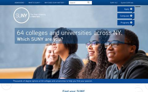 SUNY - The State University of New York