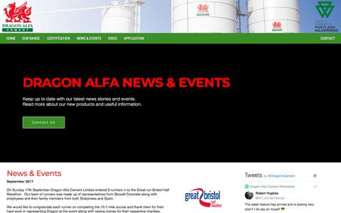 Screenshot of Press Page dragonalfacement.com - Dragon Alfa Cement Limited - captured Aug. 7, 2018