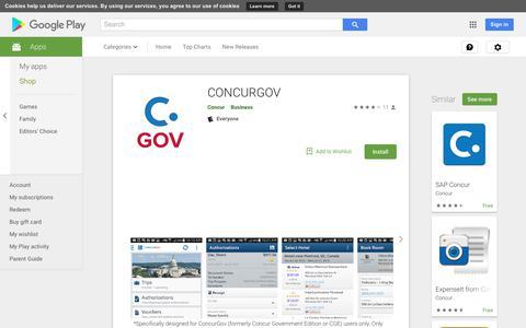 CONCURGOV - Apps on Google Play
