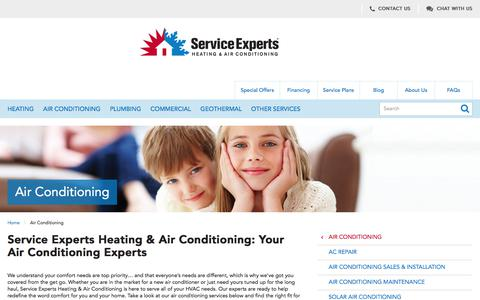 Air Conditioning Services in North America | Service Experts