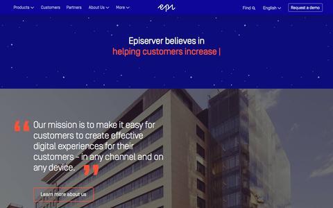About Us - Episerver