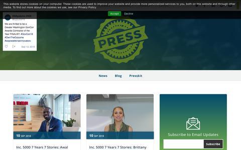 Screenshot of Blog ogsystems.com - OGSystems Blog - captured Sept. 16, 2018