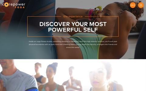 Yoga Fitness Experience | CorePower Yoga