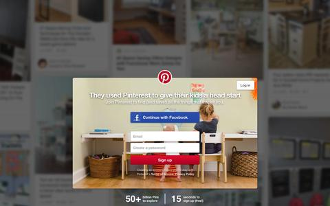 Screenshot of Home Page pinterest.com - Pinterest: Discover and save creative ideas - captured Dec. 26, 2015