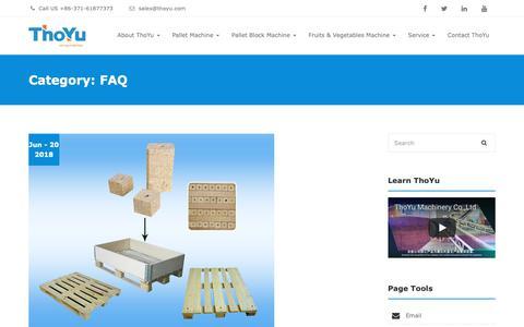 Screenshot of FAQ Page thoyu.com - Common Faq And Answers - ThoYu ( To You For You ) - captured Oct. 18, 2018