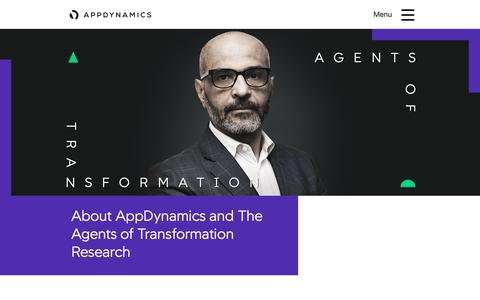 Screenshot of About Page theagentsoftransformation.com - About | The Agents of Transformation - captured Dec. 7, 2018