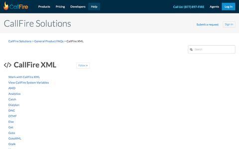 CallFire XML – CallFire Solutions