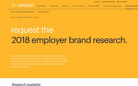 Screenshot of Signup Page randstad.com.au - Download our research and white papers | Randstad Australia - captured May 22, 2018