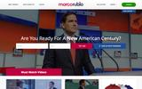 Old Screenshot Marco Rubio for US Senate Home Page