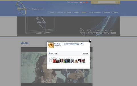 Screenshot of Press Page rudisa.net - Media | Rudisa ::: The Sky is the Limit! - captured Feb. 22, 2016