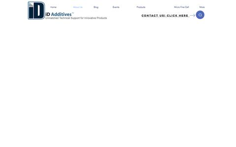 Screenshot of About Page idadditives.com - idadditives | About Us - captured April 16, 2018