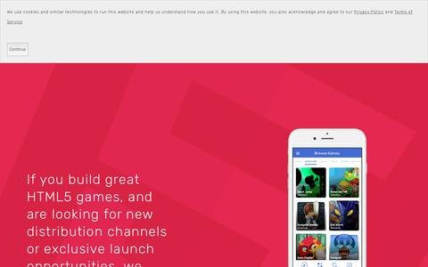 Screenshot of Developers Page goodworldgames.com - Developers — GameTrove - captured July 13, 2018