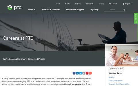 Careers | PTC