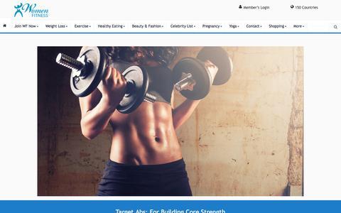 Target Abs - Women Fitness
