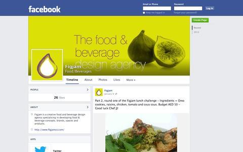 Screenshot of Facebook Page facebook.com - Figjam | Facebook - captured Oct. 25, 2014