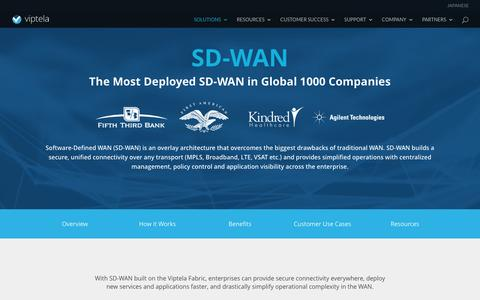 Software Defined WAN (SD WAN) | Viptela