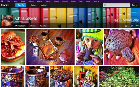 Screenshot of Flickr Page flickr.com - Flickr: Giant Seattle's Photostream - captured Oct. 22, 2014