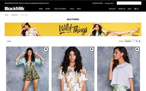 Wild Things - Collections