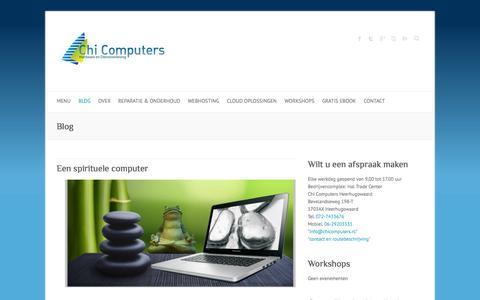 Screenshot of Blog chicomputers.eu - Blog Archives - Chi Computers Heerhugowaard - captured Oct. 27, 2014