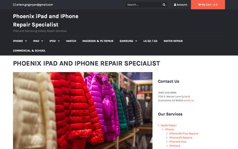 Phoenix iPad and IPhone Repair Specialist   iPad and Samsung Galaxy Repair Services
