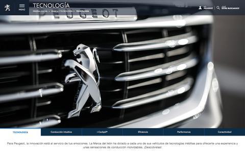 Tecnología de punta a bordo de tu Peugeot