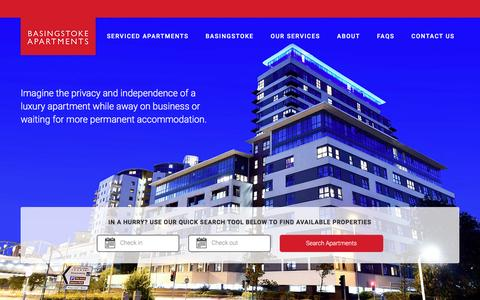 Screenshot of Home Page basingstokeapartmentservice.co.uk - Basingstoke Apartment Service | Luxury apartment rentals - captured May 31, 2017