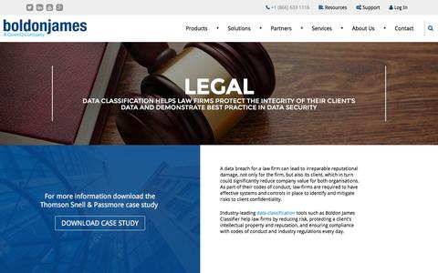 Legal | Boldon James