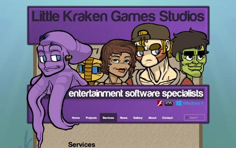 Digital Games Services Pages | Website Inspiration and