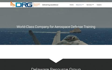 Screenshot of About Page drgok.com - Military Aircraft Training in Oklahoma City, OK - captured May 16, 2019