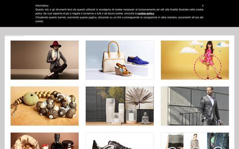 Screenshot of Home Page e-photo.it - E-Photo S.r.l. - captured July 3, 2015