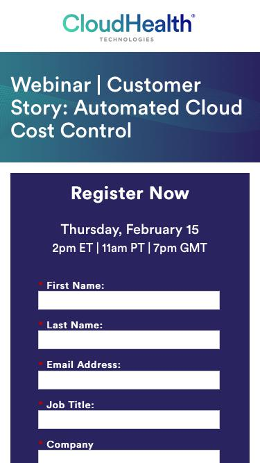 Webinar | Customer Story:  Automated Cloud Cost Control