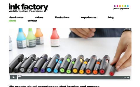 Screenshot of About Page inkfactorystudio.com - Meet the Ink Factory Team - Ink Factory - captured Oct. 12, 2018
