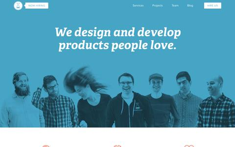 Screenshot of Home Page brewhouse.io - Brewhouse - Vancouver's leading Rails web development agency - captured Sept. 13, 2015
