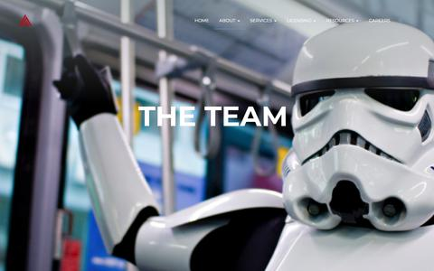 Screenshot of Team Page summit7systems.com - The Team – Summit 7 - captured Sept. 21, 2018