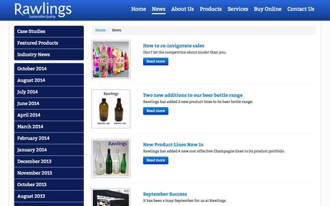 Screenshot of Press Page rawlingsbristol.co.uk - Rawlings - Blog - captured Nov. 3, 2014