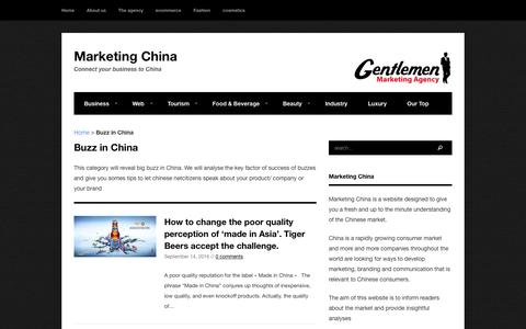 Buzz in China Archives - Marketing China